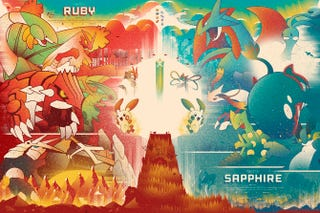 Illustration for article titled 11/17/2014: Happy Pokémon Omega Ruby And Alpha Sapphire Weekend