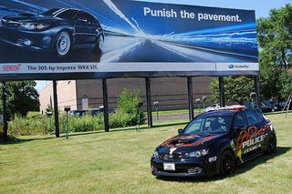 Illustration for article titled Subaru Ups Law Enforcement Street Cred With STi Police Car