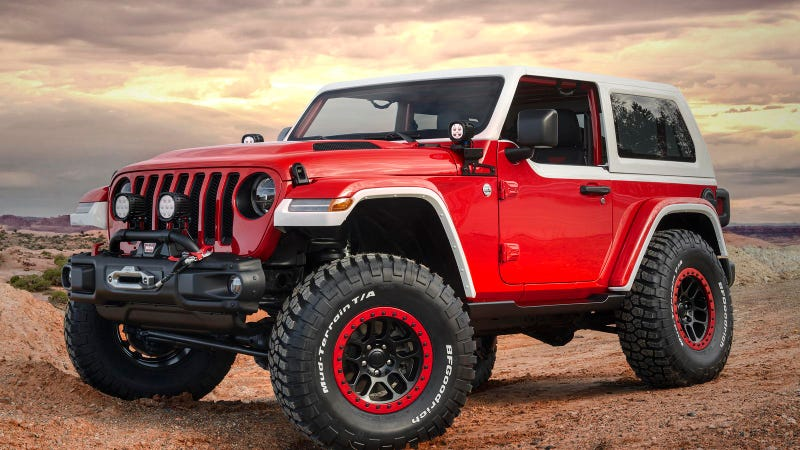 Illustration for article titled Could Jeep pull off a $100k limited edition Wrangler?