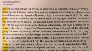 Illustration for article titled Student Rickrolls his teacher in this ingenious quantum physics essay