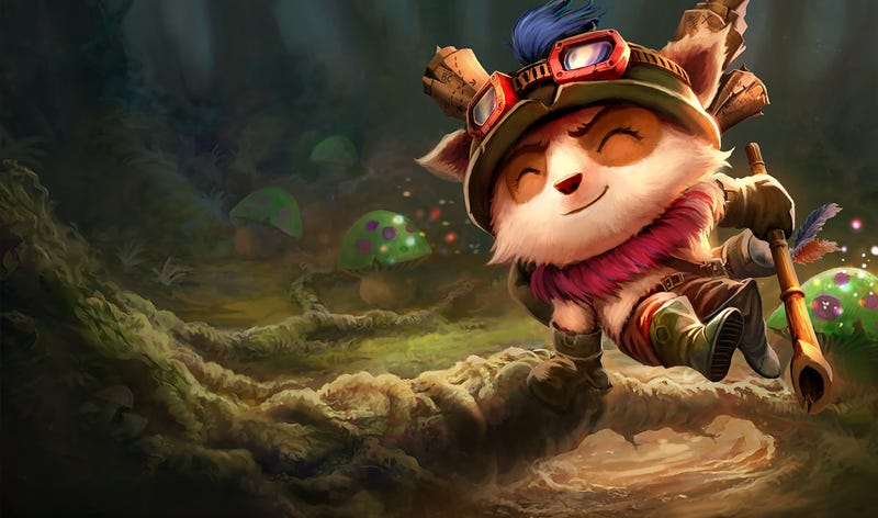 I use this image for all of my League of Legends posts, because I enjoy pain.
