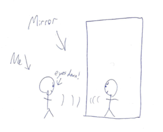 Illustration for article titled It Happened To Me: I Tried To Fight A Mirror