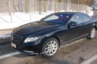 Illustration for article titled 2011 Mercedes CL600: Spy Photos