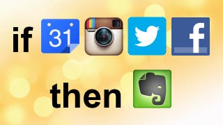 Illustration for article titled How to Automatically Archive Your Life with IFTTT and Evernote