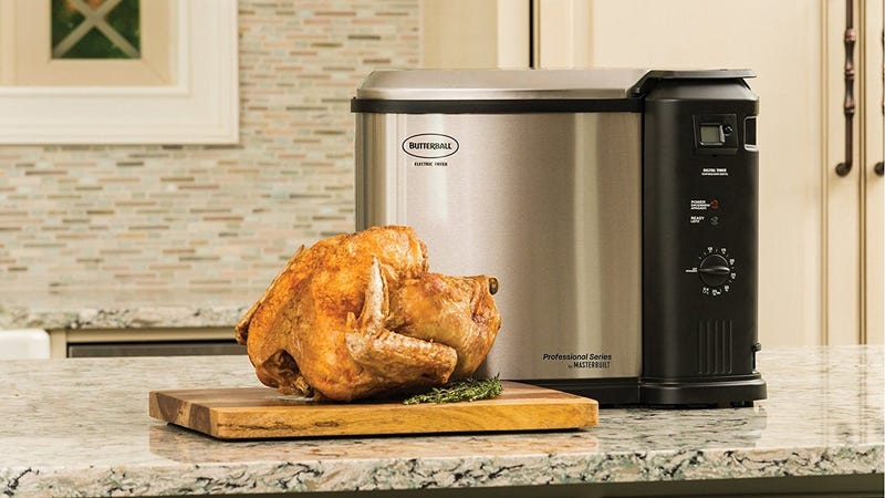 Butterball Analog Electric Turkey Fryer   $70   Daily Steals   Promo code KJTURKEY