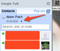 Illustration for article titled Google Talk Goes Invisible