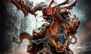 Illustration for article titled Darksiders 2 Won't Tell A War Story