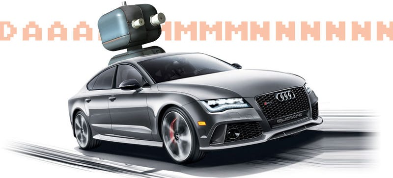 Illustration for article titled A Driverless Audi RS7 Will Do A Lap At A German Touring Car Race