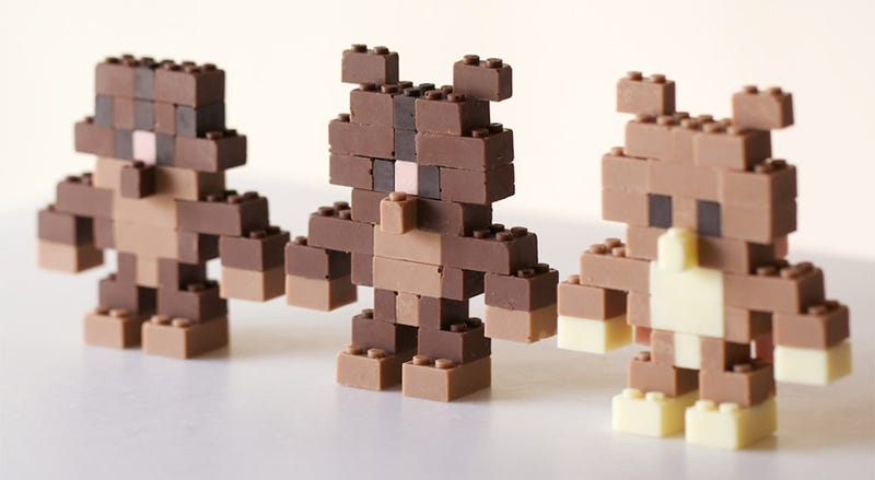 Illustration for article titled You Guys, Somebody Made LEGO Out Of Chocolate