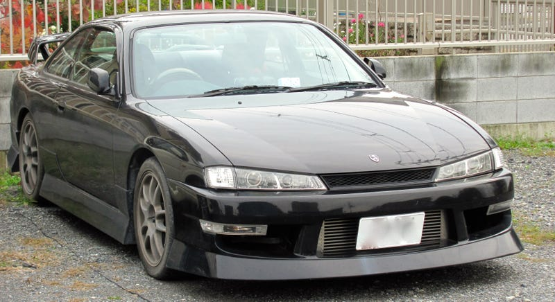 Illustration for article titled Lord Vader, Your Nissan Silvia Is Ready