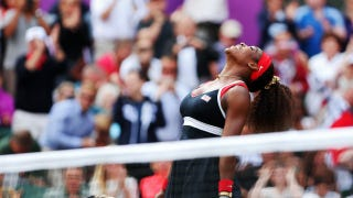 Illustration for article titled Serena Williams Wins Gold Medal, Crip Walks Into Our Hearts