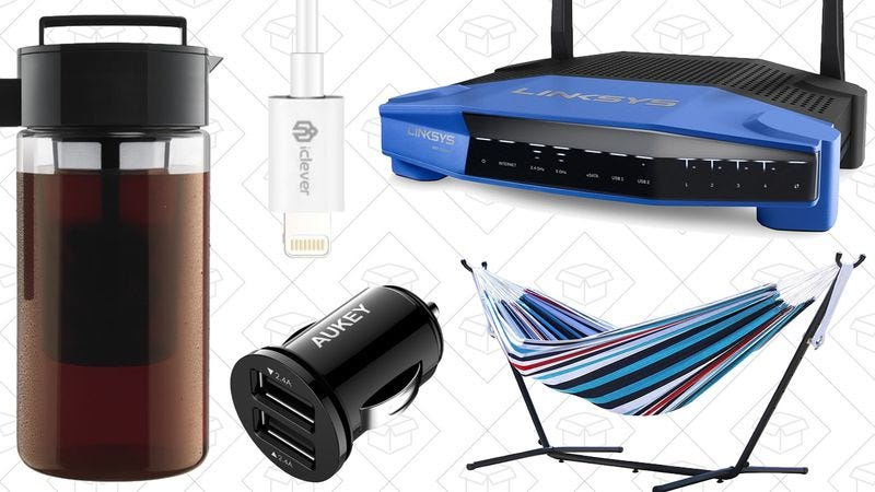 Illustration for article titled Today's best deals: PC components, cold-brew coffee, and more