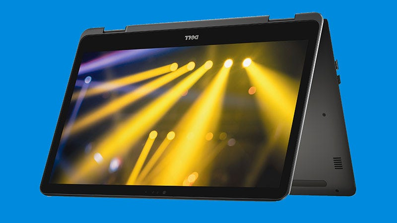 Illustration for article titled Dell's New 17-Inch 2-in-1 Laptop Is Bananas