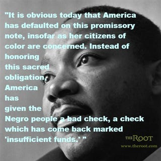 Martin Luther King Jr. (Reg Lancaster/Getty Images)