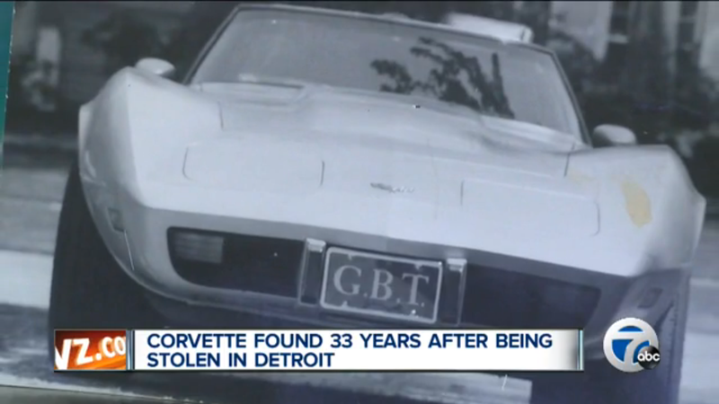 Illustration for article titled Good Guy Mark Reuss Helps Detroit Man Recover Corvette Stolen In 1981