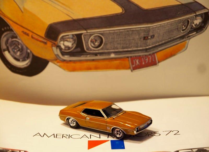 Illustration for article titled Big Fenders And Big Engine: Greenlight 1973 AMC Javelin Trans Am V8