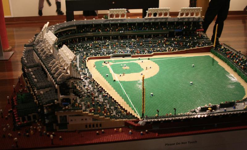 759f2e645df Cubs Fan Creates Amazingly Detailed Model of Wrigley Field Using Lego