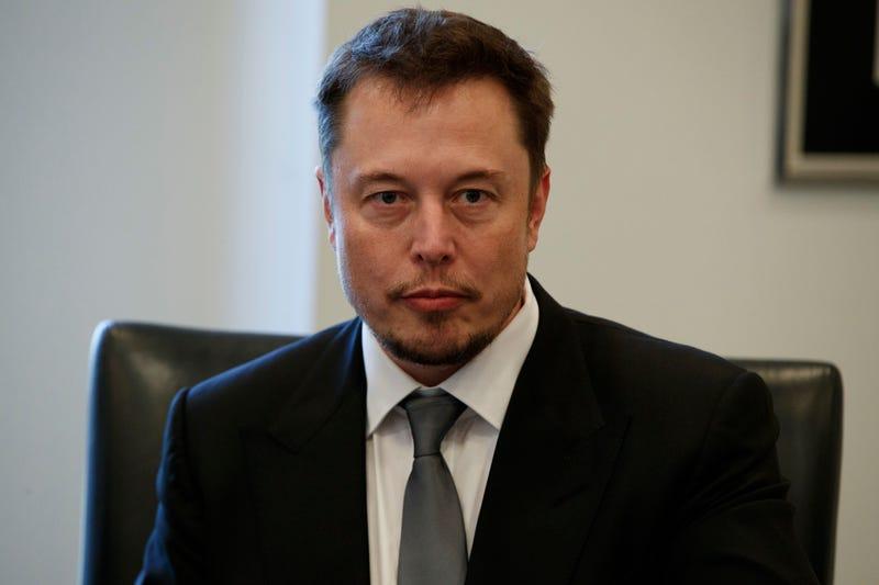 Elon Musk. AP