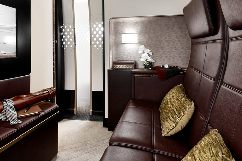 Illustration for article titled The Most Expensive Airplane Suite In The World Is Frankly Kind Of Cramped