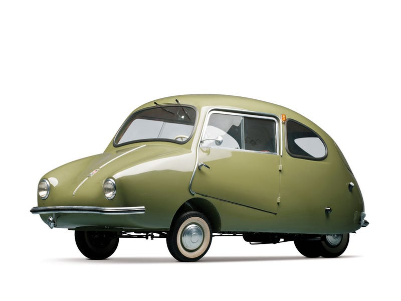 Illustration for article titled The Fuldamobil is the cutest car ever made
