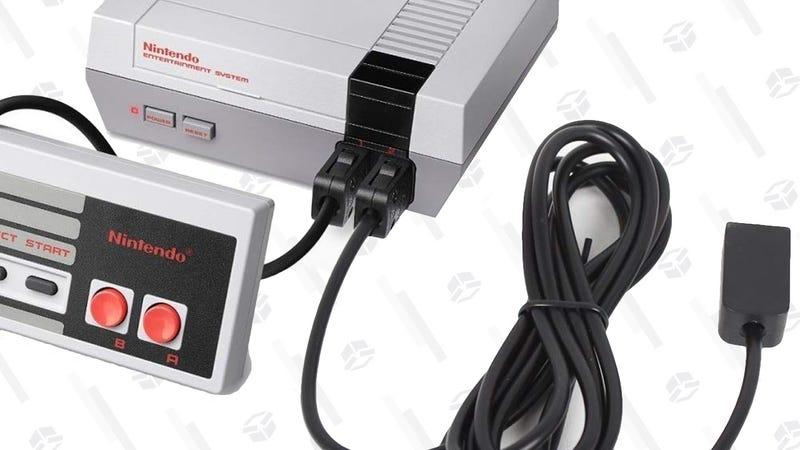 Nintendo NES Classic | $60 | Amazon2-Pack 10' Controller Extension Cables | $9 | AmazonNintendo NES Classic Controller| $10 | Amazon