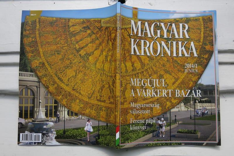 Illustration for article titled Lapozzátok át ti is a Magyar Krónika friss és ropogós első számát!