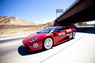 Illustration for article titled Lambos and Ferraris Let Loose on California Roads. Welcome to Targa Trophy