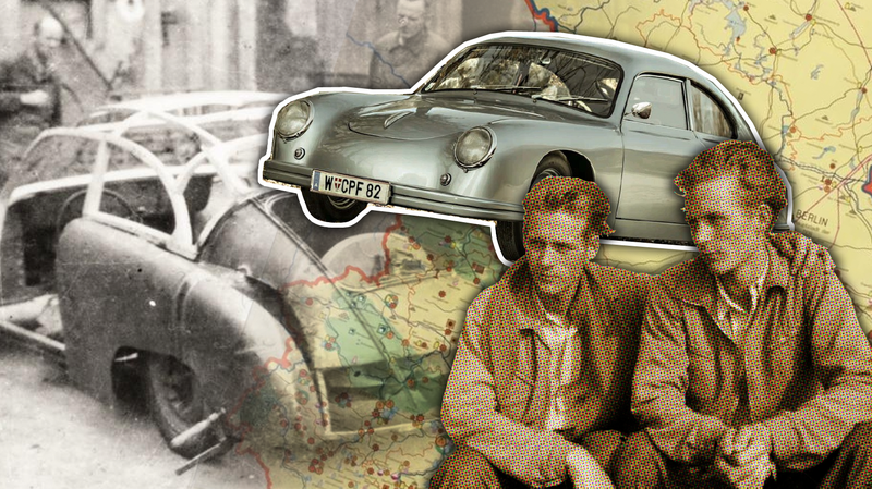 Illustration for article titled The Amazing Story Of The Porsche-Blessed East German Home-Built Porsche 356 Knockoffs
