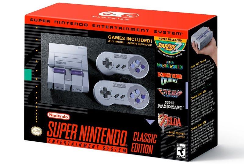 Illustration for article titled La Super Nintendo Classic llegará en septiembre con 21 juegos retro, incluyendo uno inédito