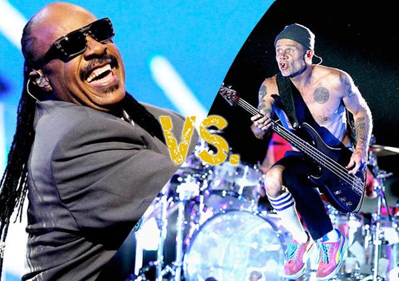 Illustration for article titled Song Showdown: Stevie Wonder Vs Chili Peppers