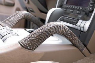 Illustration for article titled HAMANN Cyclone Porsche Cayenne: Nothing Says Speed Like Snakeskin