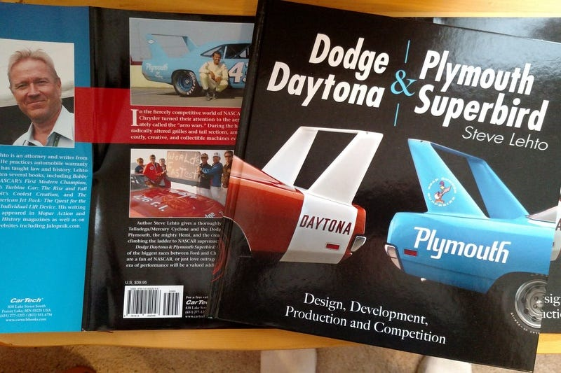 Illustration for article titled Dodge Charger Daytona/Plymouth Superbird - The Book
