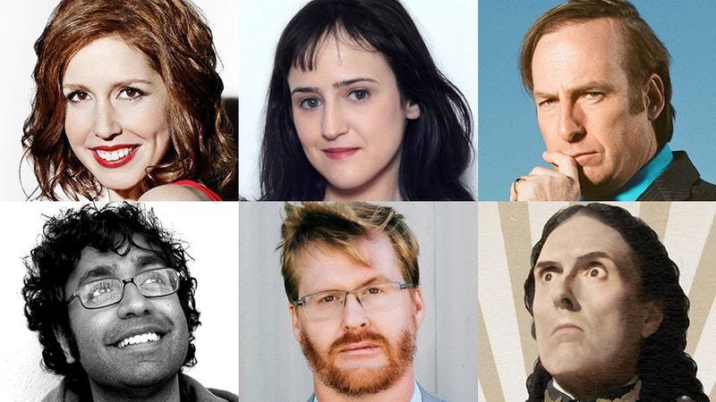 "Illustration for article titled Bob Odenkirk, Vanessa Bayer, ""Weird Al"" Yankovic, and more pick their favorite pop culture of 2014"