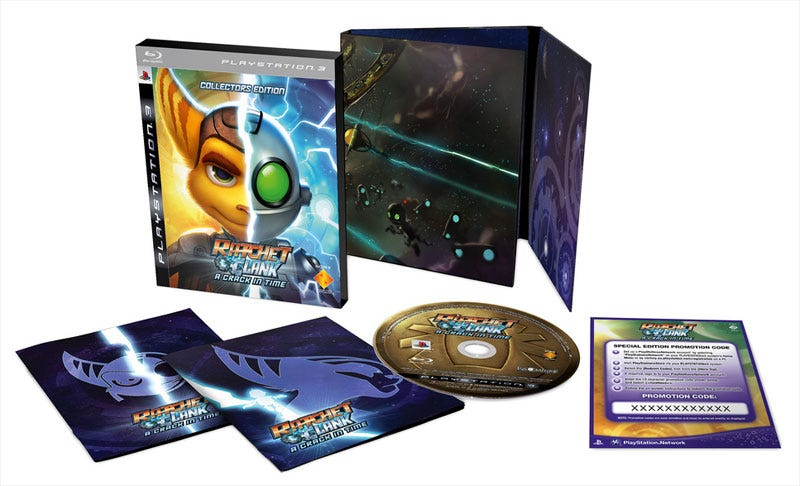 Illustration for article titled Europe Gets Ratchet & Clank: A Crack In Time Collector's Edition, Wins This Time