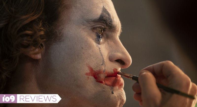 A tear and a smile, a perfect image for Todd Phillips' Joker.