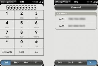 Illustration for article titled Unofficial Google Voice App Lands on Palm Pre