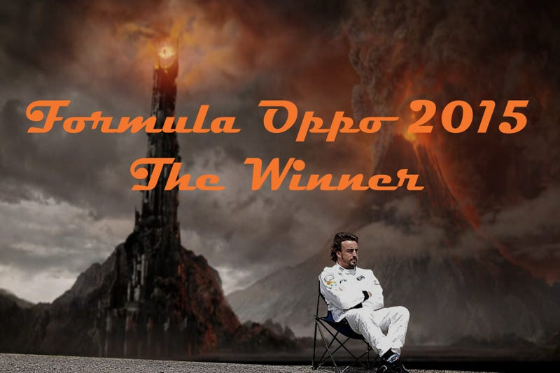 Illustration for article titled Formula Oppo 2015: The Winner