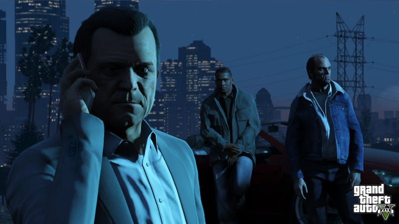 Illustration for article titled Merry Christmas! Here are Five New Screens of Grand Theft Auto V.