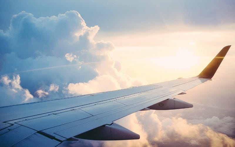 Airport hookup love at first flight