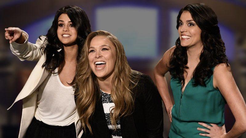 Selena Gomez, Ronda Rousey, Cecily Strong (NBC)