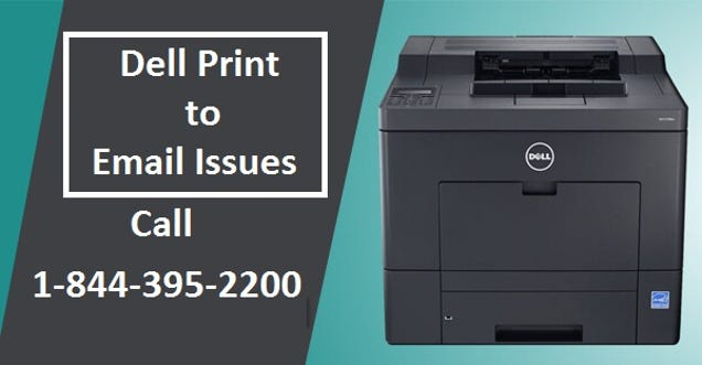 Dell Print to Email