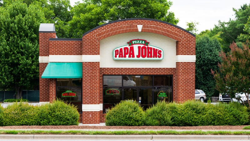 Illustration for article titled Papa John's U.K. hopes its ostrich-meat pizza really takes off