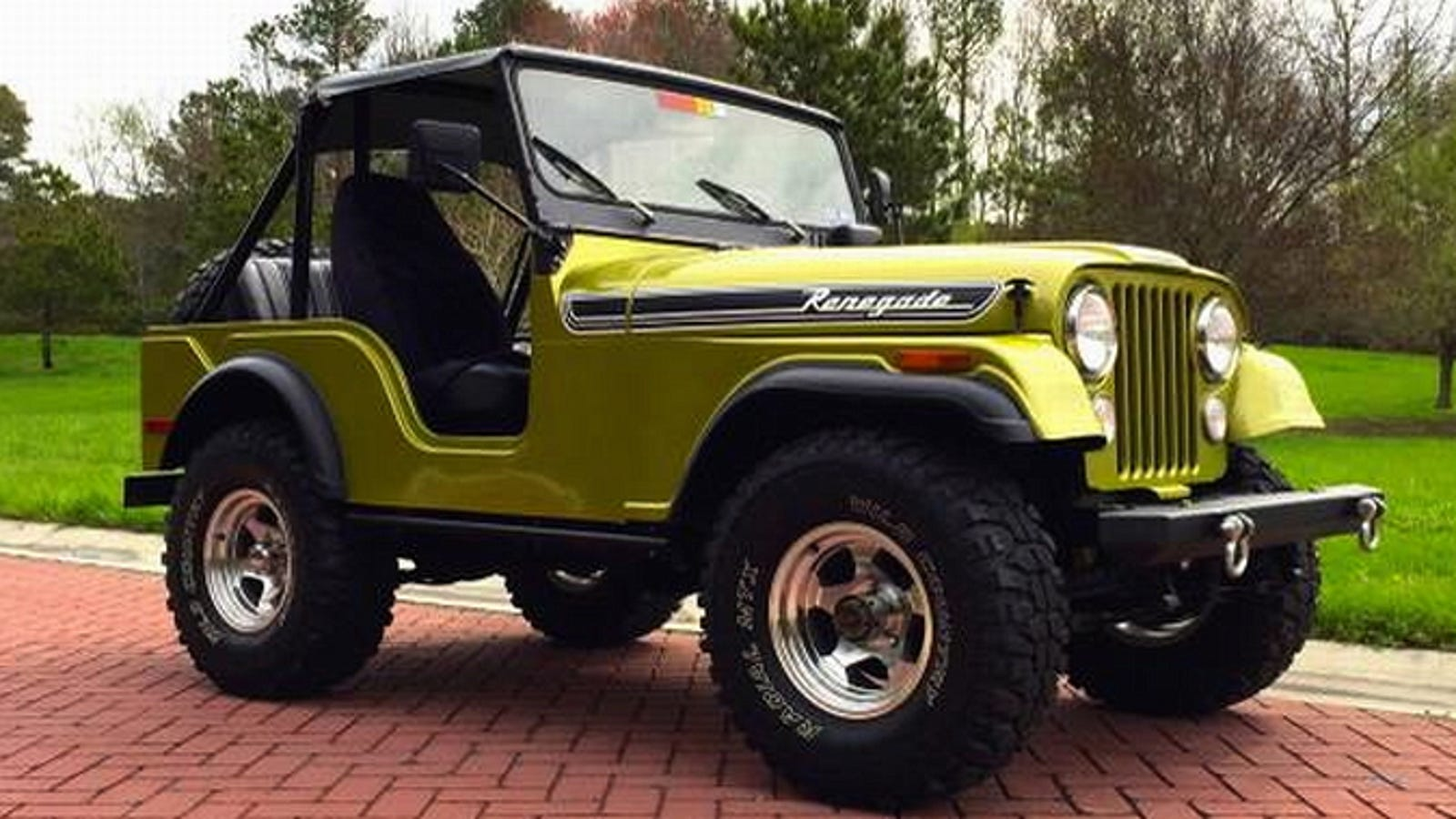 Stupendous For 11 500 This 1972 Jeep Cj5 Laughs At Rust Wiring Cloud Peadfoxcilixyz