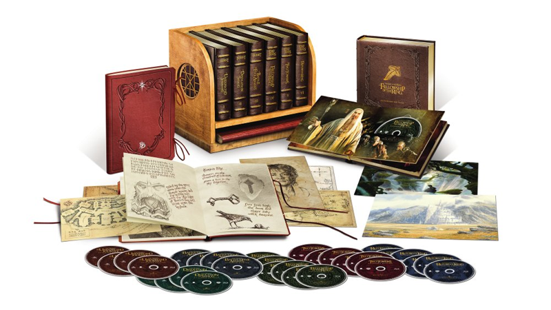 Illustration for article titled Here's the Ultimate Lord of the Rings/Hobbit Blu-Ray Set You've Been Waiting For