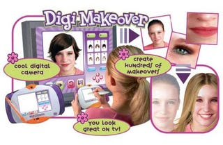 Illustration for article titled The Digi Makeover, Because it's Hard to Say 'You're Not Pretty Enough'