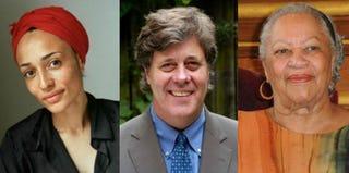 Authors Zadie Smith (Dominique Nabokov); David Maraniss (Brown.edu); Toni Morrison (Francois Durand/Getty Images)