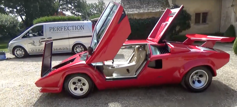 How To Perfectly Detail Your Lamborghini Countach