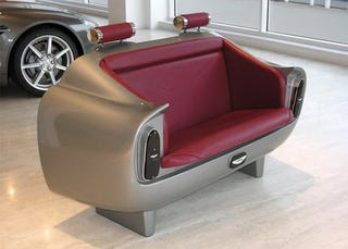 Illustration for article titled Aston Martin DB6 Couch Is The Cheapest Option For Your DB6 Desires