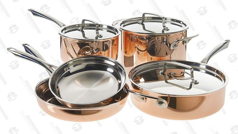 Set de cocina de cobre (8 piezas) | $199 | AmazonGráfico: Shep McAllister
