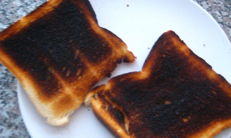 Illustration for article titled Qué dice la ciencia sobre los supuestos peligros cancerígenos de comernos una tostada quemada